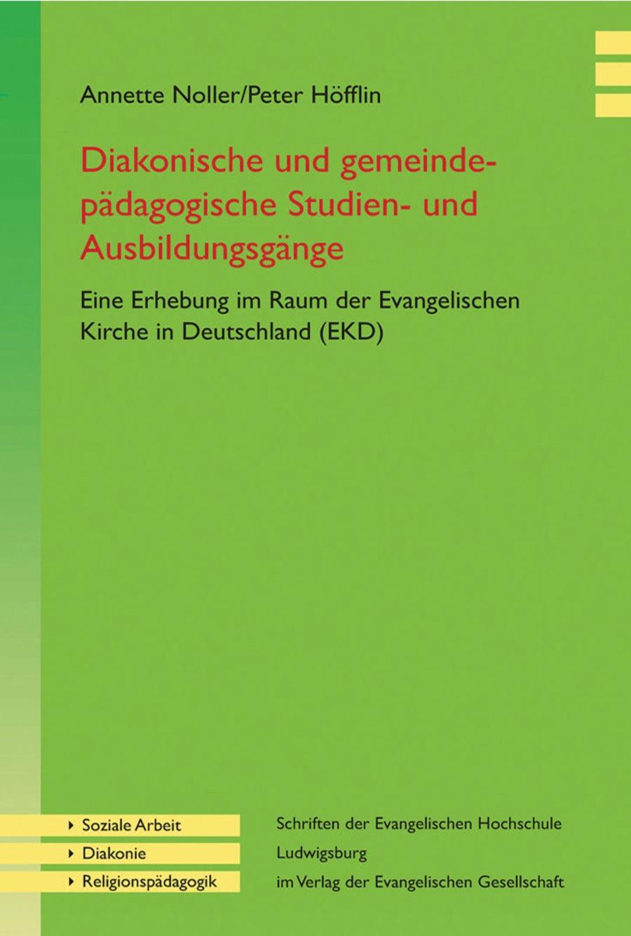 Diakonische Und Gemeindepädagogische Studien- Und Ausbildungsgänge