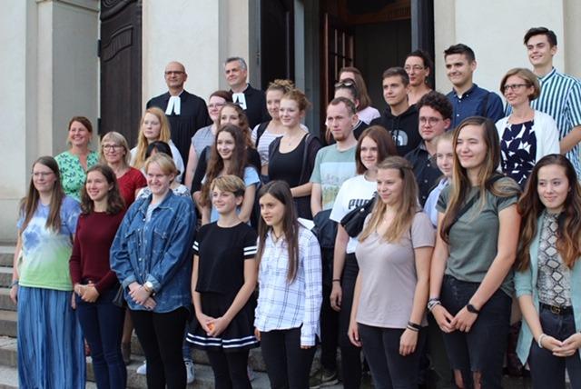 """Eröffnung Der Evangelischen Schule Für Sozialwesen """"Hans Georg Anniès"""" In Moritzburg"""
