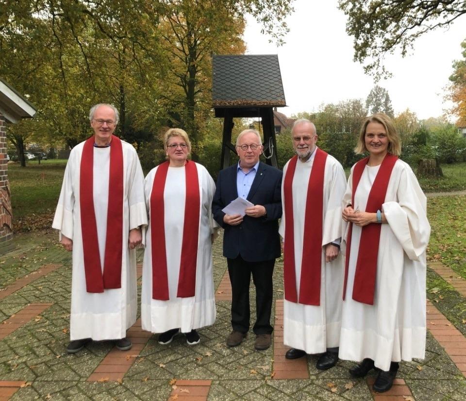 Diakon Klaus Hinck Als Vorsitzender Des Diakoniekonventes Lutherstift In Falkenburg Bestätigt