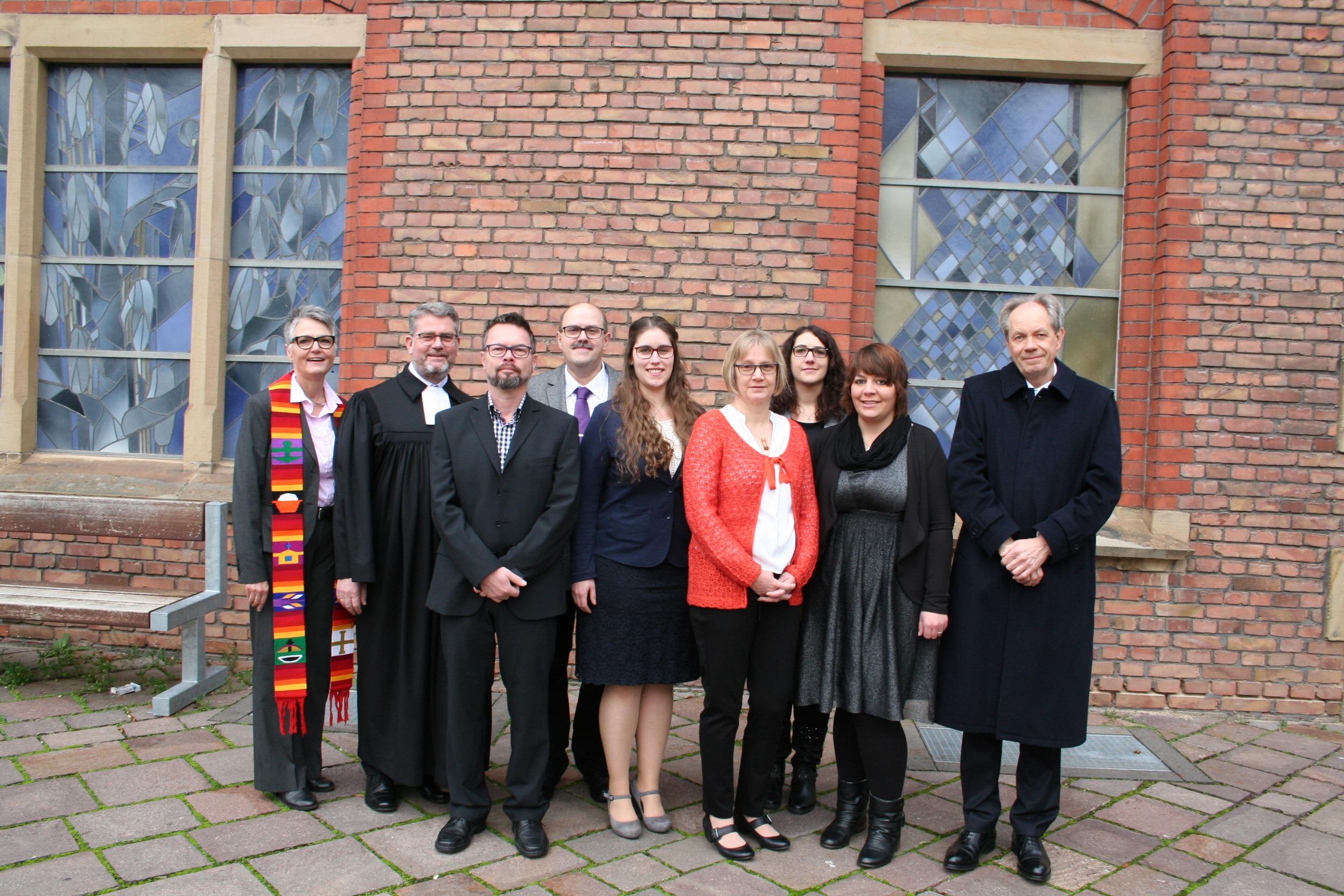 Diakonenausbildung Und Diakonische Gemeinschaft Paulinum Feiern Einsegnung