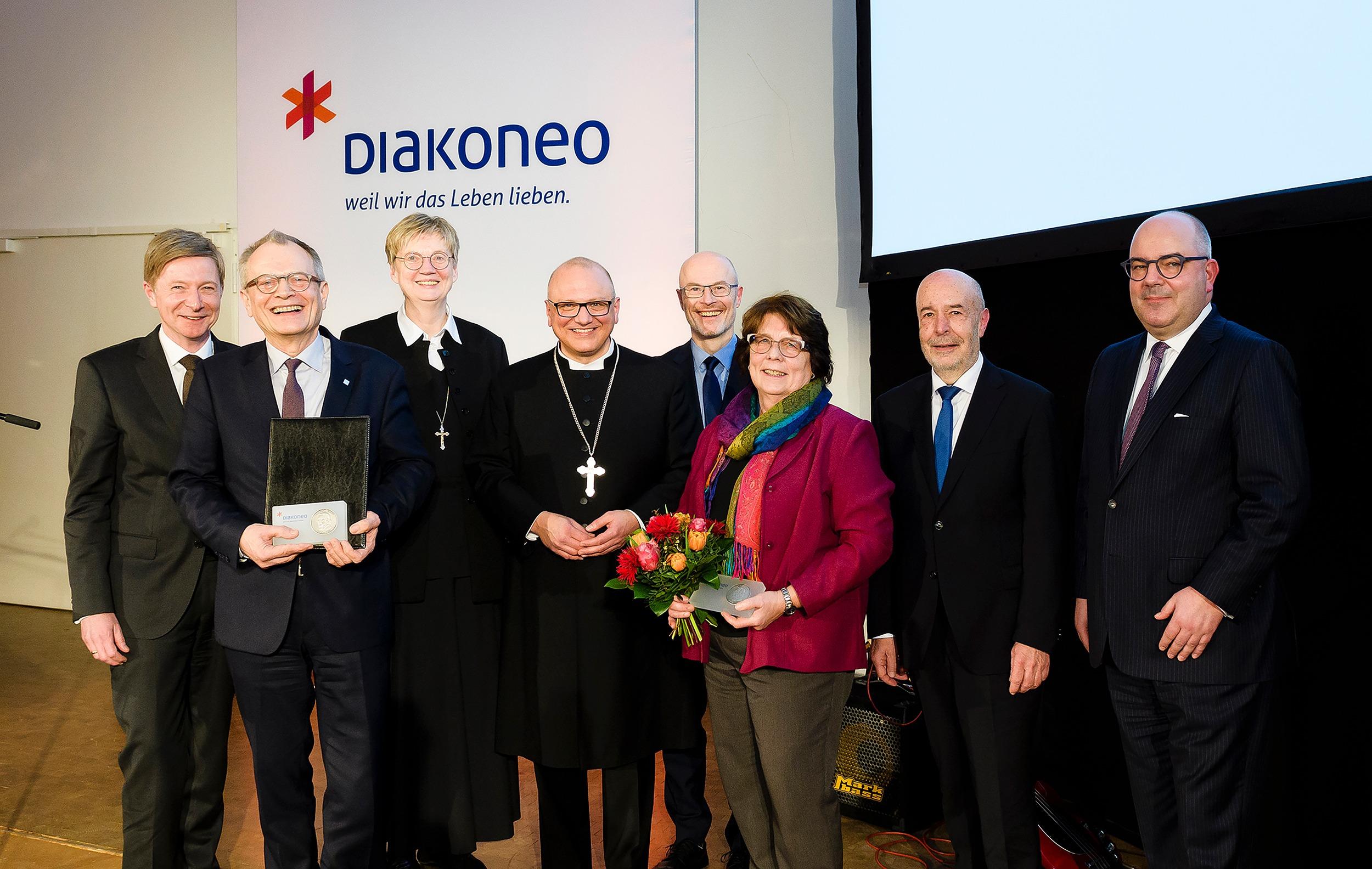 Positive Bilanz Der Fusion Beim Ersten Diakoneo-Jahresempfang