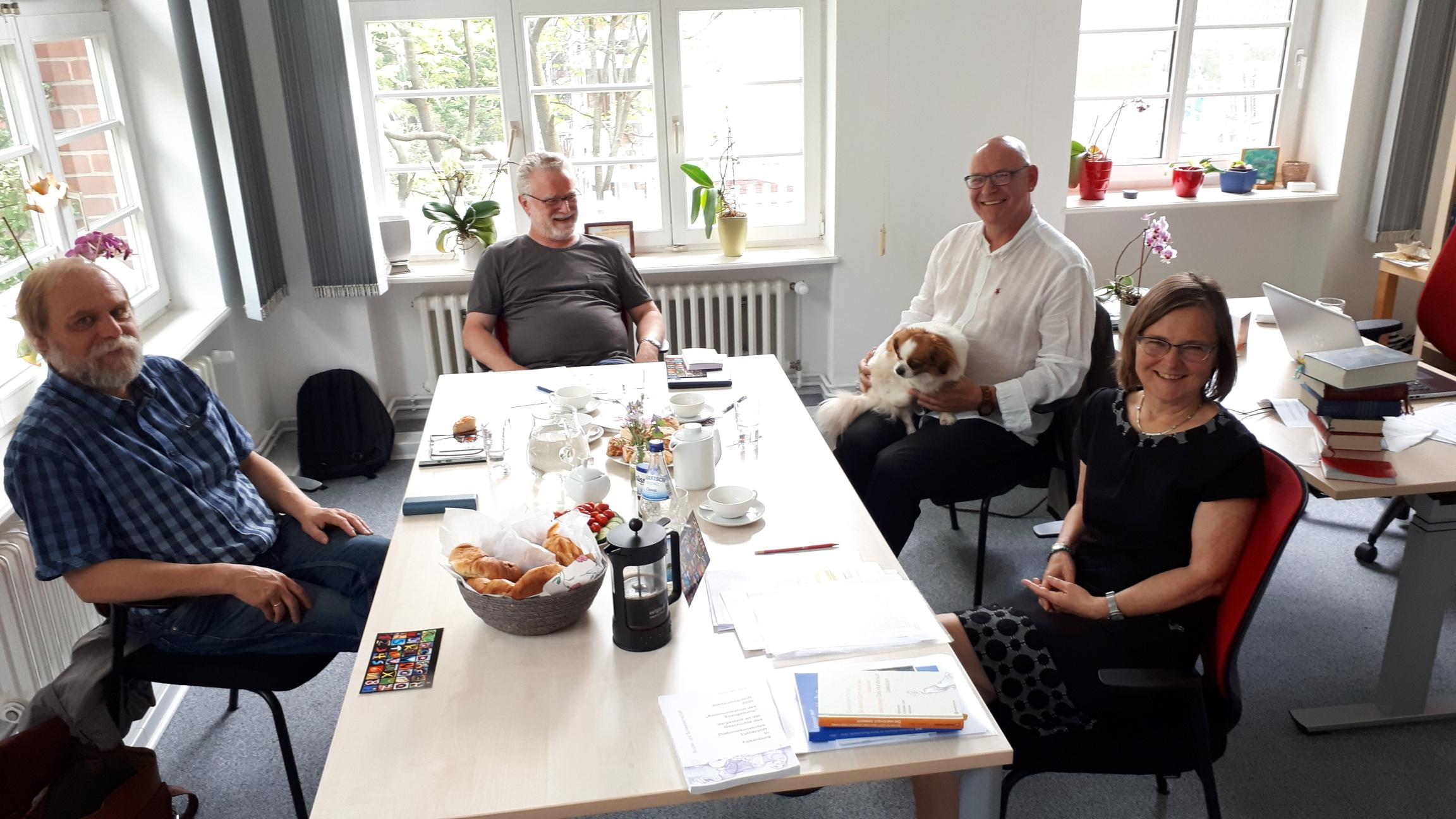 Planungsrunde Für Ältestenkonferenz 2021