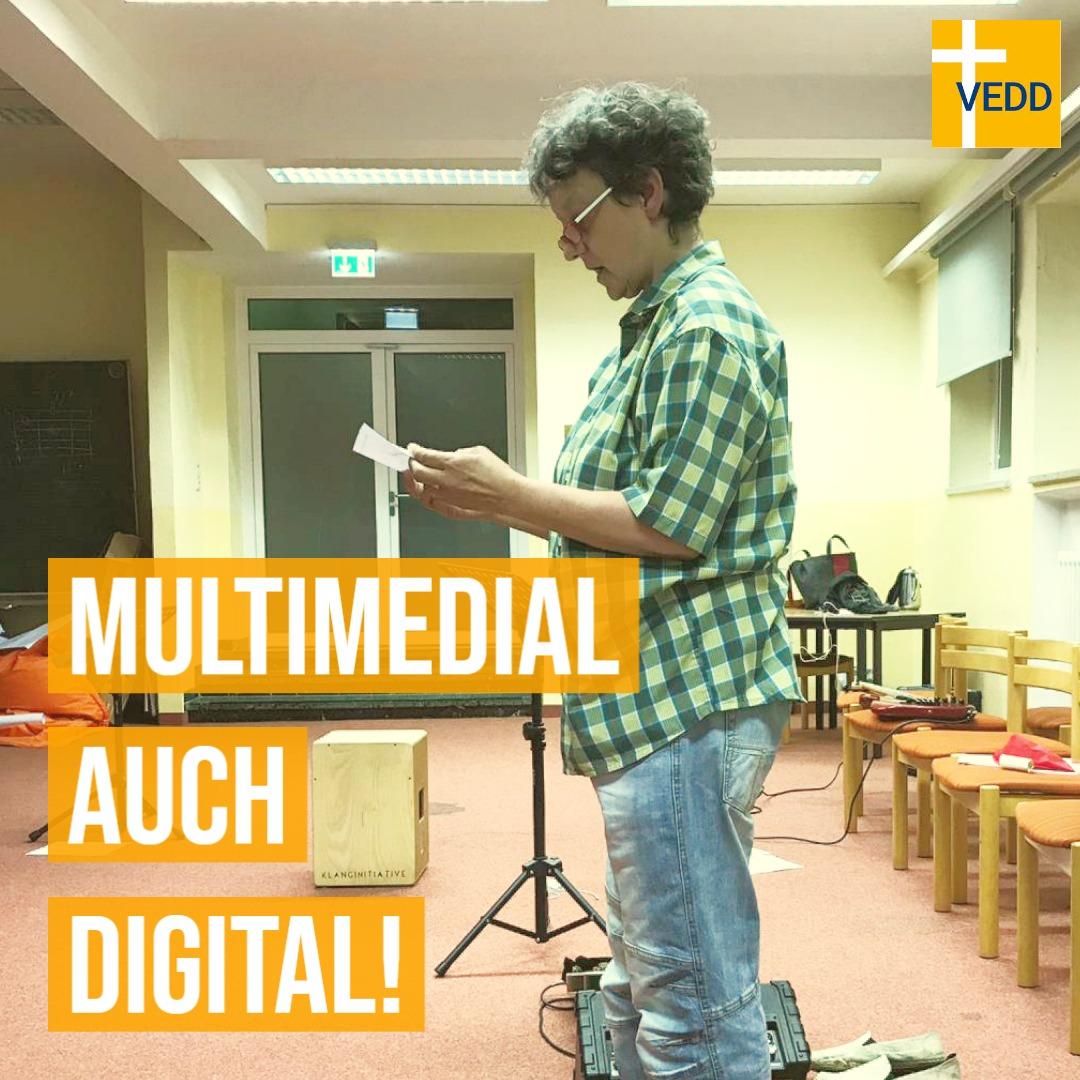 """""""Multimedial Auch Digital!"""" – Diakon_in Zeiten Von Corona"""