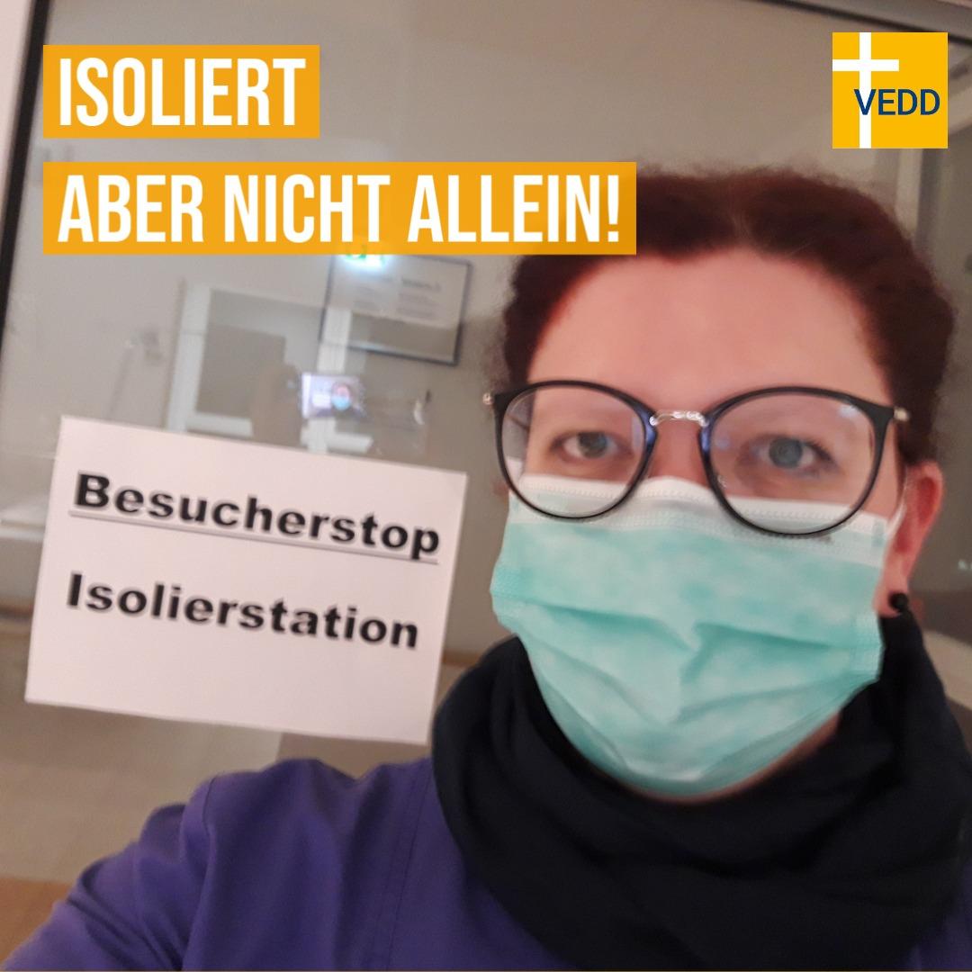 """""""Isoliert Aber Nicht Allein!"""" – Diakon_in Zeiten Von Corona"""