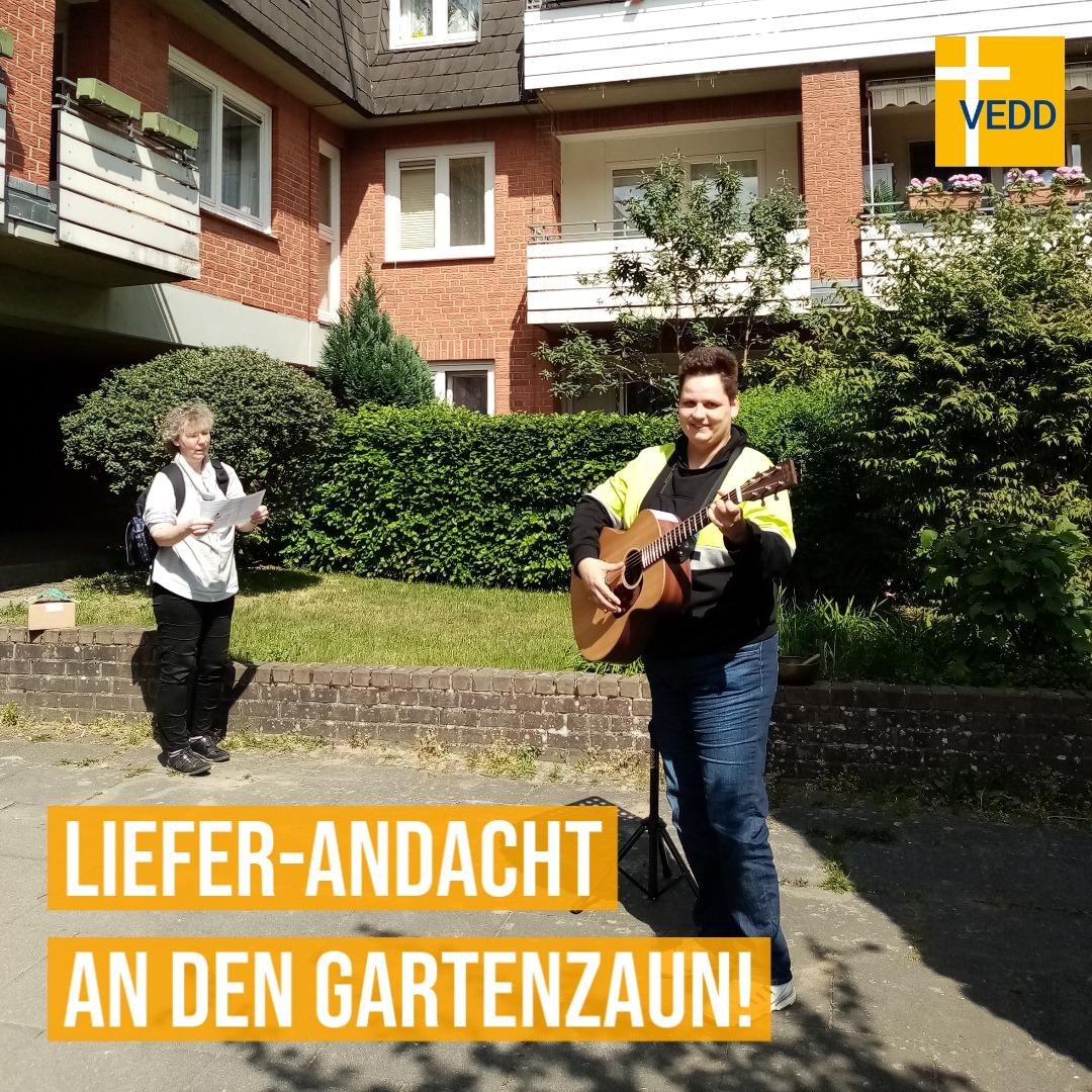"""""""Liefer-Andacht An Den Gartenzaun!"""" – Diakon_in Zeiten Von Corona"""
