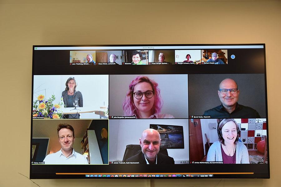 Neuer Vorstand VEDD - Foto Lara März