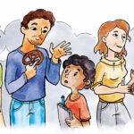 """Luca fragt nach Rummelsberger Diakonie legt Kinderbüchlein zu den Sozialen Berufen """"Kinderpfleger"""", """"Diakon*in"""" und """"Pflege"""" neu auf."""