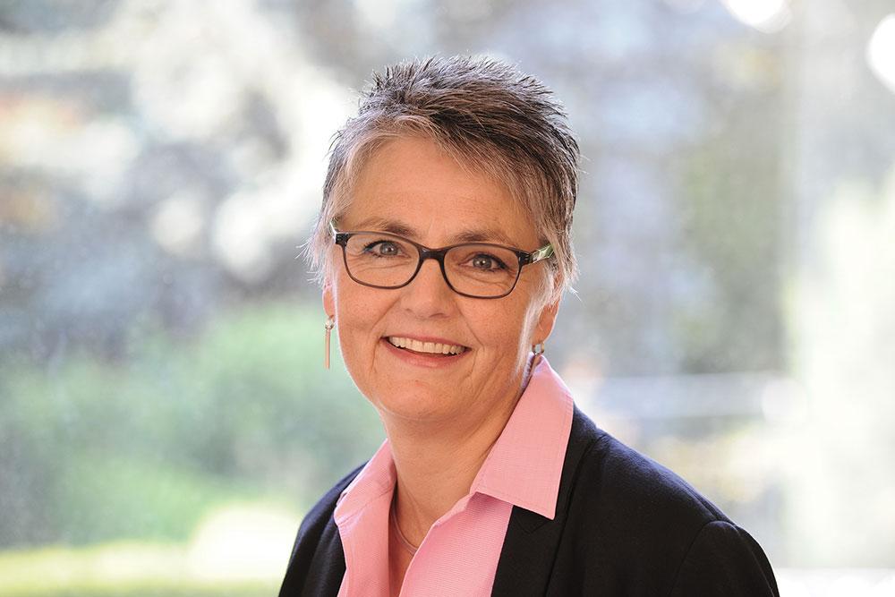 Ausbildungsleiterin Doris Borngässer
